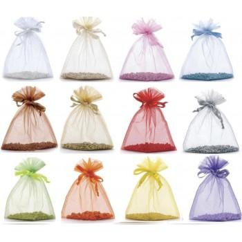 Bottiglietta Vasetto vetro Bombato Tappo sughero portaconfetti