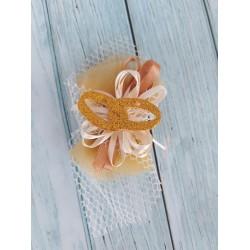 Set 27 mollettine in legno con cuore panno fai da te cuore rosso San valentino