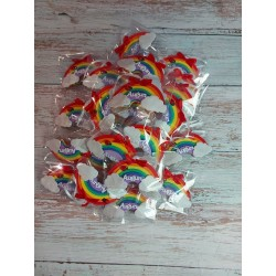 Set 10 fogli gomma crepla colori assortiti 2mm formato A4 Moosgummi Fommy Eva