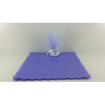 Struttura torta 35 astucci a quadretti Azzurro o Rosa