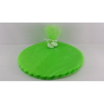 Mini espositore POIS CELESTE con base porta confetti