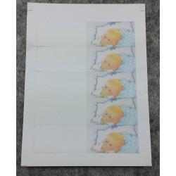 Rotolo Nastro Fiore Porta confetti con tirtante picasso Giallo