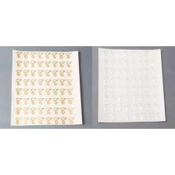 64 Iniziali Adesive Lettere...