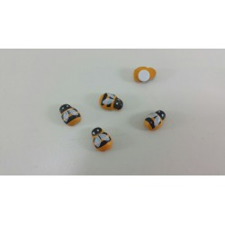 Set 20 deco ape apina con...
