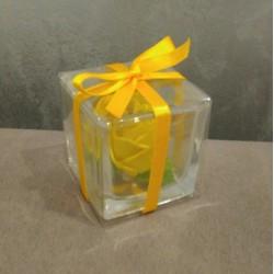 Stock 11 pz Scatolina orsetto portafoto  cornice Rosa nascita battesimo