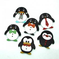 Set 25 decorazioni Pinguini...