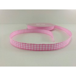 NASTRO QUADRETTI ROSA 10MM...
