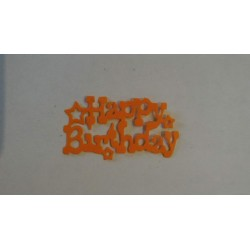 Scritta Happy Birthday...