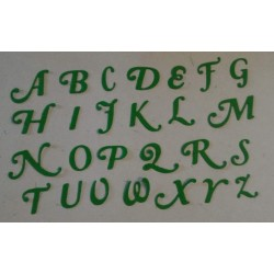 Iniziali 1.8 cm Alfabeto...