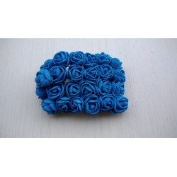 set 12 Rose fommy blu 2cm...