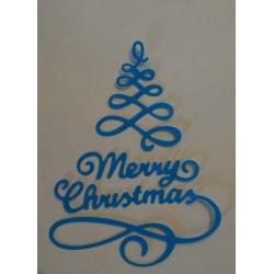 Fustellato scritta Merry...