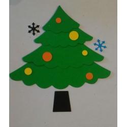 Fustellato Albero di Natale...