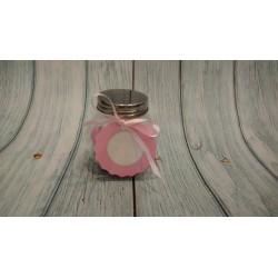 Cesto prima Comunione porta bomboniere Sacchettini rosa o azzurro Vassoio