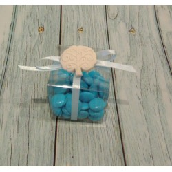 SHOPBOX 10X5X14,5 cm Matalassè BIANCO SHOPPER per bomboniere