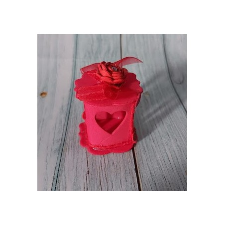 Scatolina porta confetti Bianca Portafoto bomboniera fai da te