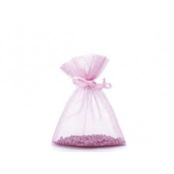 Flaconcino in vetro H 1O cm con tappo in sughero Provetta