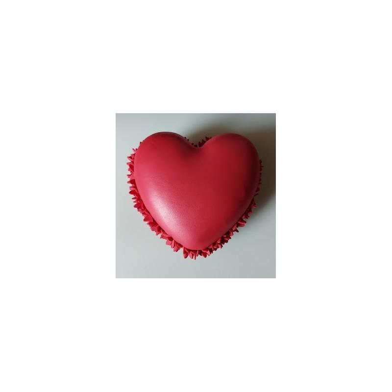 Scatolina Confezionata Bomboniera Segnaposto Nozze ciondolo cuore Anniversario