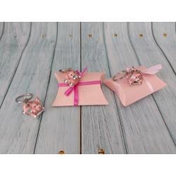 Bracciale Rosario con perle cm 20 bomboniera confezionata comunione bimbo bimba