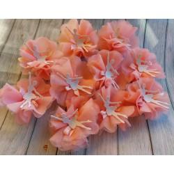 Scarpetta ballerina danza classica resina rosa con fiocco cm7