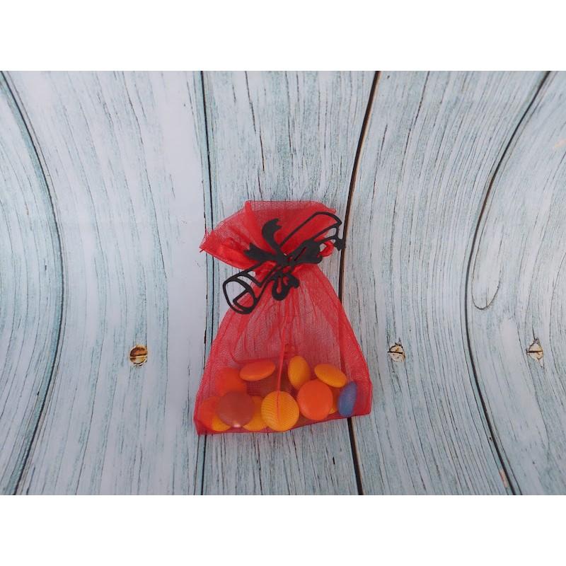 Set 10 pz Scatolina Orsacchiotta Rosa/Azzurro porta confetti