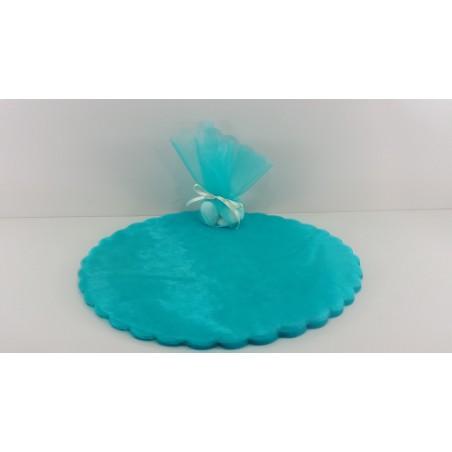 Stock 22 pz Scatoline Porta confetti Azzurro Biberon + Orsetto