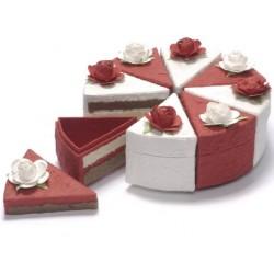 Struttura torta 8 fette in...