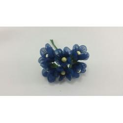 Fiorellino Organza Blu per...