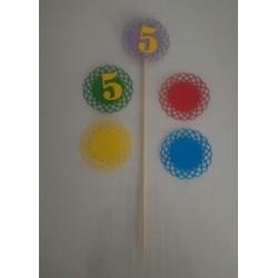 Kit 10 Stick con Numero per...